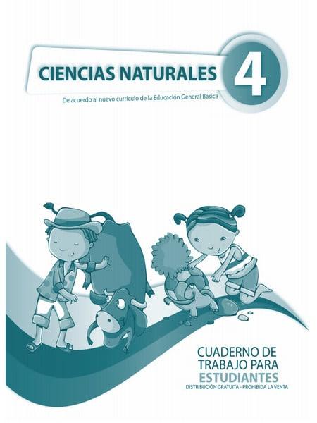 Cuaderno de Trabajo de Ciencias Naturales 4