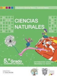 Cuaderno de Trabajo de Ciencias Naturales 5