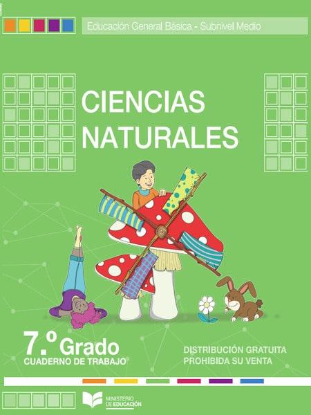 Cuaderno de Trabajo de Ciencias Naturales 7