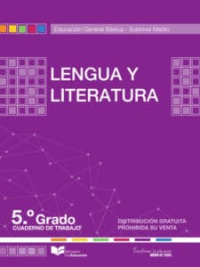 Cuaderno de Trabajo de Lengua y Literatura 5