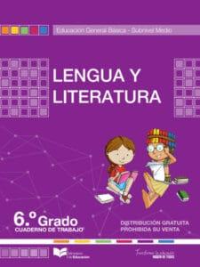 Cuaderno de Trabajo de Lengua y Literatura 6