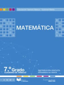 Cuaderno de Trabajo de Matemática 7