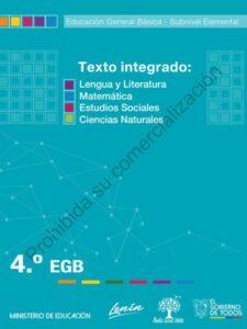 Cuaderno de Trabajo de Texto Integrado 4