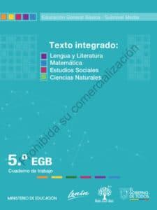 Cuaderno de Trabajo de Texto Integrado 5