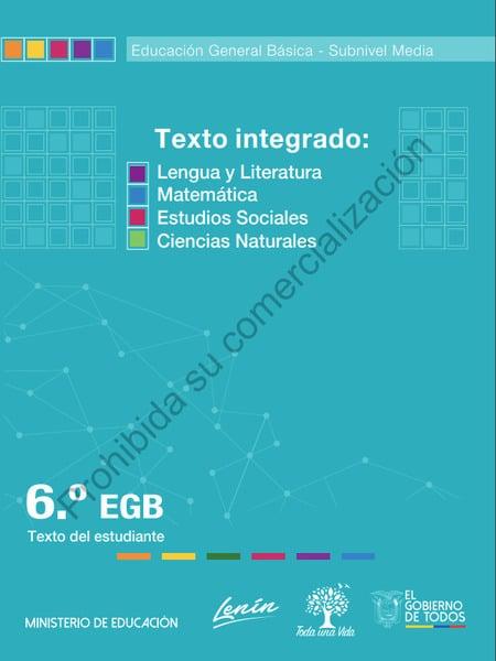 Cuaderno de Trabajo de Texto Integrado 6