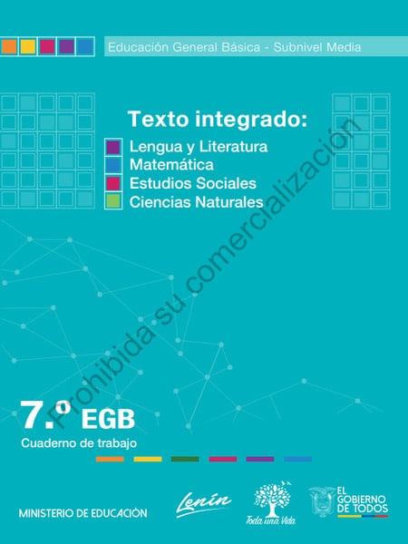 Cuaderno de Trabajo de Texto Integrado 7