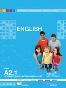 Libro de Inglés 10