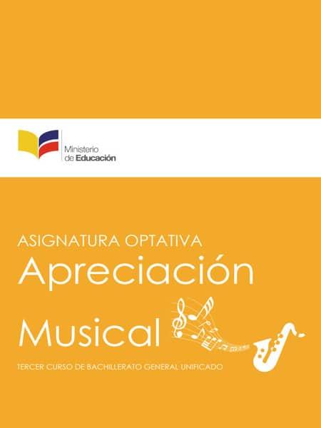 Libro de Apreciación Musical 3 Bachillerato