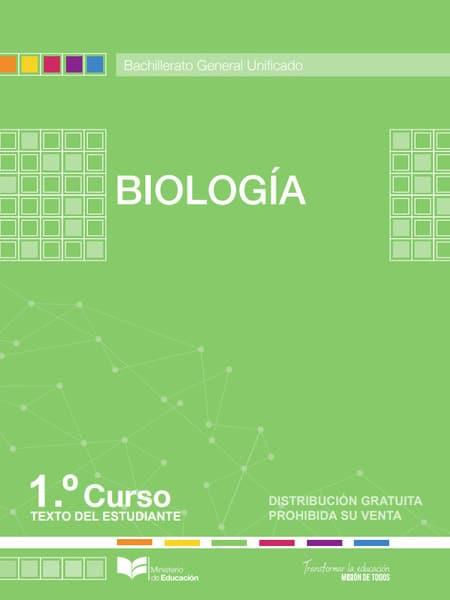 Libro de Biología 1 Bachillerato