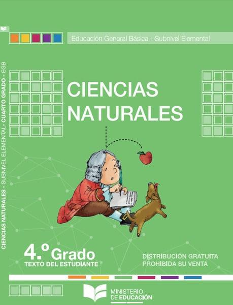 Libro de Ciencias Naturales 4