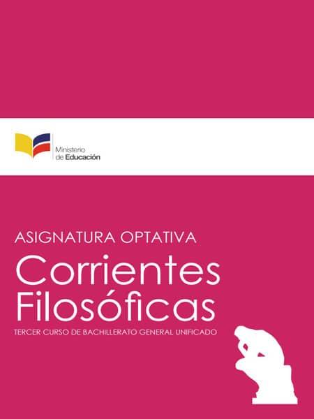 Libro de Corrientes Filosóficas 3 Bachillerato