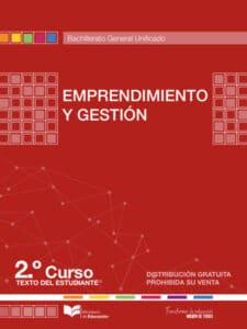 Libro de Emprendimiento y Gestión 2 Bachillerato