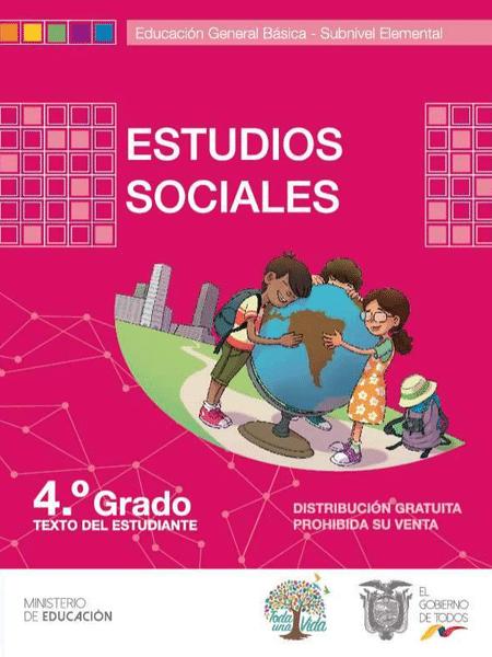 Libro de Estudios Sociales 4