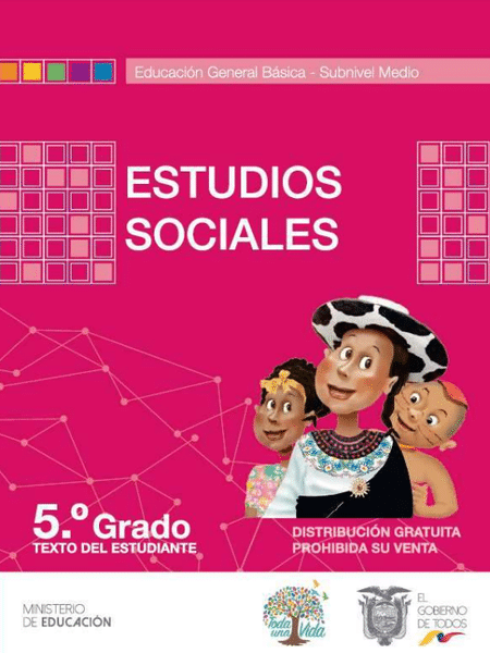 Libro de Estudios Sociales 5