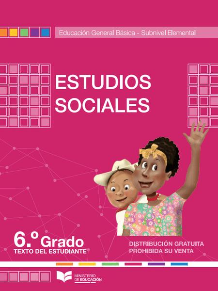 Libro de Estudios Sociales 6