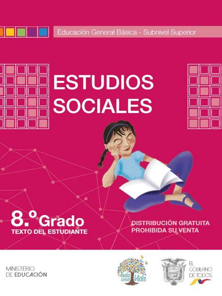 Libro de Estudios Sociales 8