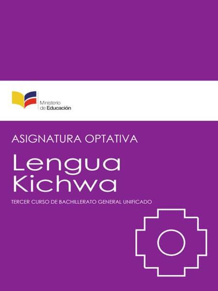Libro de Kichwa 3 Bachillerato