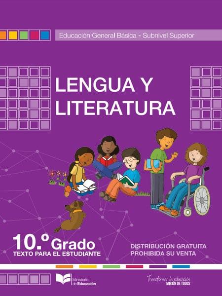 Libro de Lengua y Literatura 10