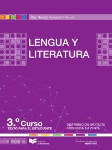 Libro de Lengua y Literatura 3 Bachillerato