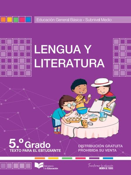 Libro de Lengua y Literatura 5