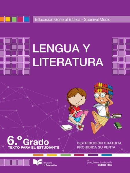 Libro de Lengua y Literatura 6