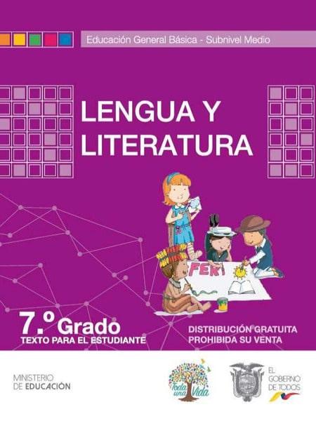 Libro de Lengua y Literatura 7