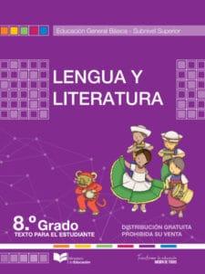 Libro de Lengua y Literatura 8