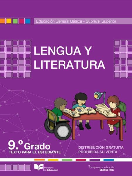 Libro de Lengua y Literatura 9