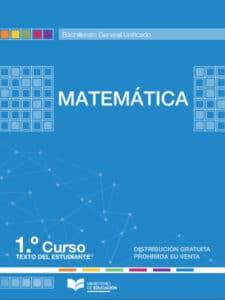 Libro de Matemática 1 Bachillerato