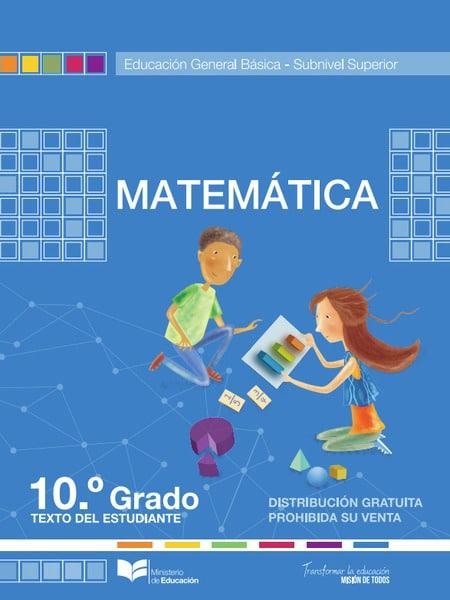 Libro de Matemática 10
