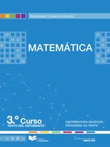 Libro de Matemática 3 Bachillerato