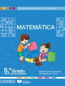 Libro de Matemática 5