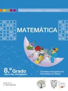 Libro de Matemática 8