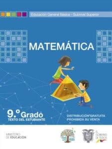 Libro de Matemática 9