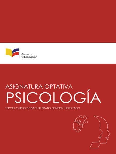 Libro de Psicología 3 Bachillerato