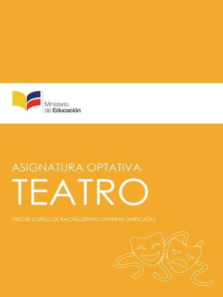 Libro de Teatro 3 Bachillerato