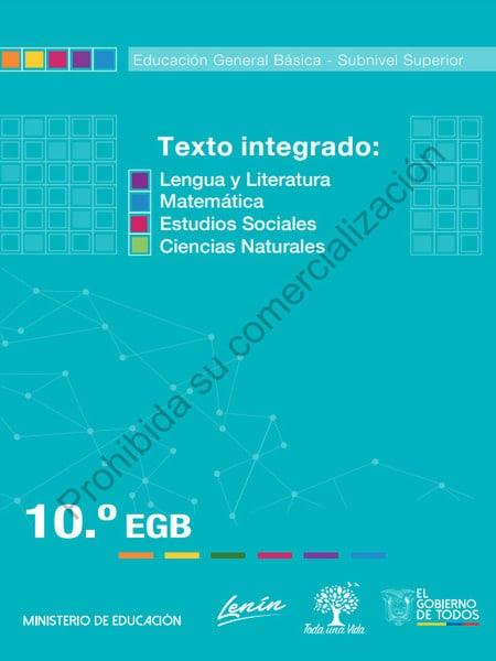 Libro de Texto Integrado 10