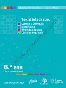 Libro de Texto Integrado 6